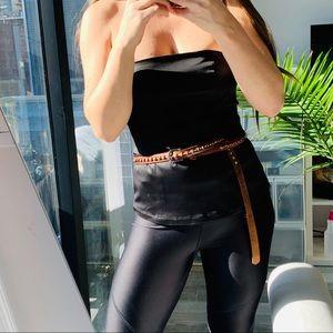 SM Harness Butter Genuine Leather 3D Braid Belt